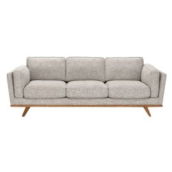 Plain 3 Seater Wooden Furniture Sofa