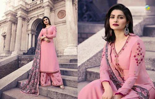 c8363b5071 Vinay Georgette Embroidered Salwar Suit, Rs 1377 /only set, Heenaz ...