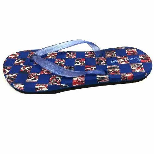 e6de615f497d2 Luma Pride Daily Wear Block Printed Ladies Slipper, Size: 3-7, Rs 80 ...