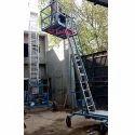 Industrial Aluminium Platform Extension Ladder