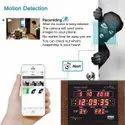 Safetynet Wifi Spy Camera Security Digital Wall Clock Camera 4k Support 128gb Memory Card