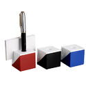 Plastic Cube Pen Stand For Home & Office