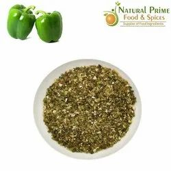 Dehydrated Pepper Flakes A Grade Dehydrated Green Bell Pepper Flakes, Maharashtra