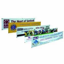 Printed Rectangular Frontlit Flex Banner