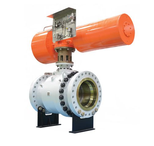 Virgo MG Series Metal Seated Trunnion Ball Valve - Emerson, Pune