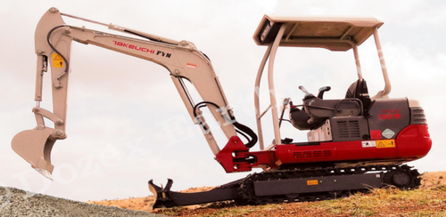 Mini Excavators Rental Service, Excavator And Earth Moving Machinery