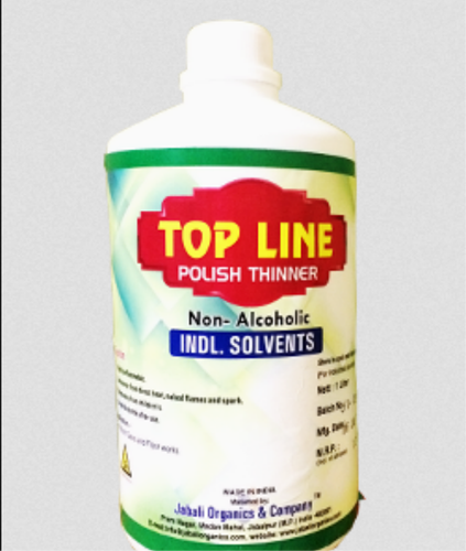 Manufacturer of Top Line Polish Thinner & Royal Thinner by
