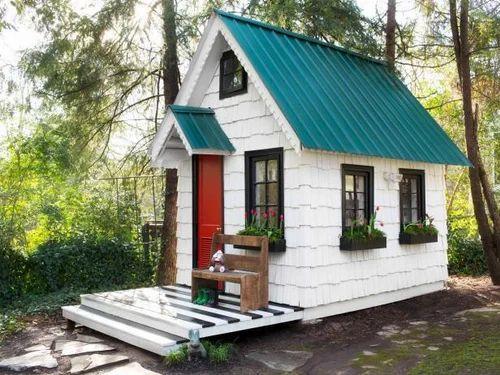 luxury tiny house. Wood And Steel Luxury Tiny House