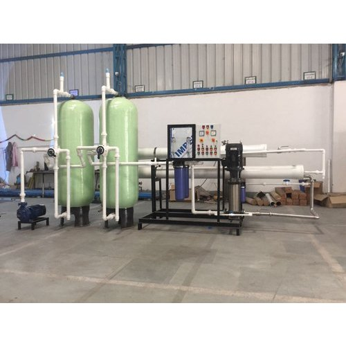Industrial Reverse Osmosis Plants, Automation Grade: Semi-Automatic, Industrial RO Plant
