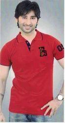 Men's Cotton Half Sleeve T Shirt, Size: M, L & XXL