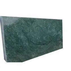Sand/Abrasive Finish Dark Green Marble, Slab, Thickness: 20 mm
