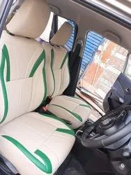 Green and Off White Pu Leather Ford Auto Car Seat Cover, Features: Waterproof