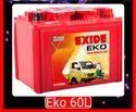 ECO 60l Exide Car Battery