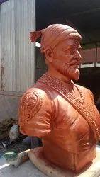 Shivaji Half Statue