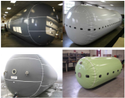 Biogas Cylindrical Balloon