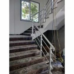 SS Stairs Railing