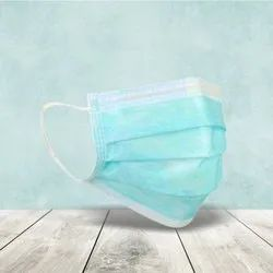 Natural Ppe Disposable Surgical Mask, For Hospital, Number of Layers: 3
