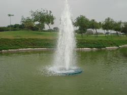 MTC Fiber Floating Fountains, Variable