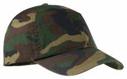 Unisex Polyester Camouflage Caps