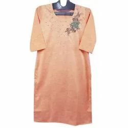 Party Wear Embroidered Kurti