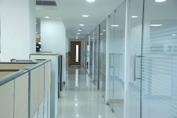 Framelss Glass Partition