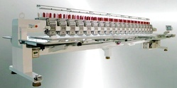 Ultra Super High Speed Multi-Heads Automatic Embroidery