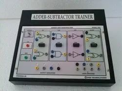4 Bit Binary Full Adder and Subtractor