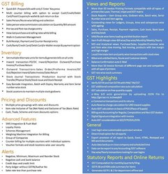 Online/Cloud-based GST Software, For Windows