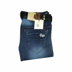 Mens Casual Wear Plain Jeans, Size: 28 - 34