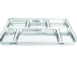 6 Compartment Rectangular Tray