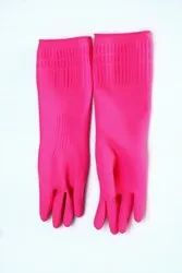 REUSABLE HOUSEHOLD RUBBER GLOVES (with WRINKLE)
