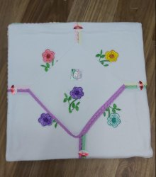 Embroidery Ladies Cotton Handkerchief