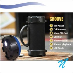 Groove Barrel Speaker