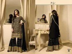 Pakistani Georgette Plazzo Salwar Suit