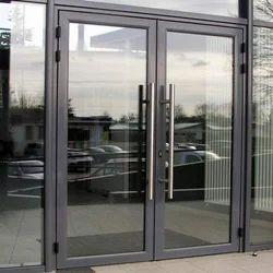 Aluminium Office Glass Door