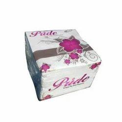 White Plain Pride Single Ply Tissue Paper