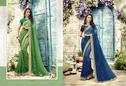 Triveni Present Suraiyya Georgette Designer Fancy Saree
