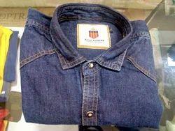 L And XL Mens Denim Shirt