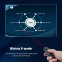 ROQ Wireless USB PowerPoint Remote Control Laser Presenter