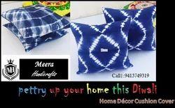 Tie Dyed Pillow Cover Home Decor Cushion Cover Indigo Blue