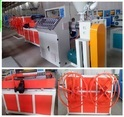 Plastic PP Single Wall Corrugated Pipe Production Line (SJ65