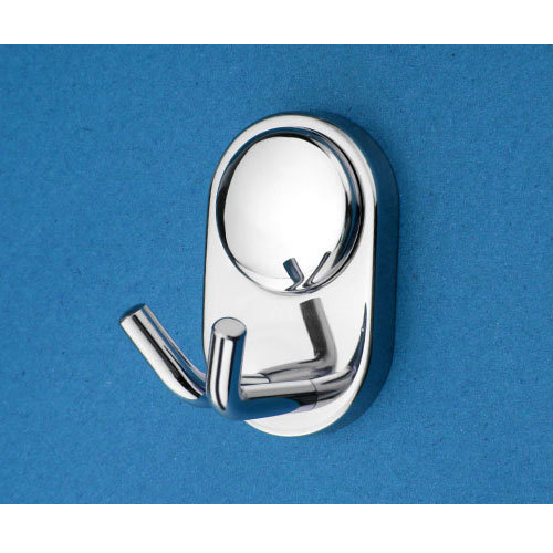 Complementary Round Double Robe Hook