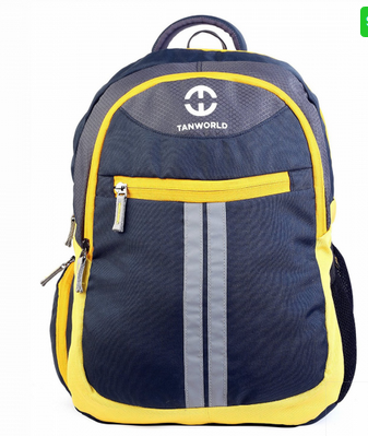 Durable Water Resistant Polyester Nevy Blue Ace Stylish Laptop Backpack b3141627e5d52