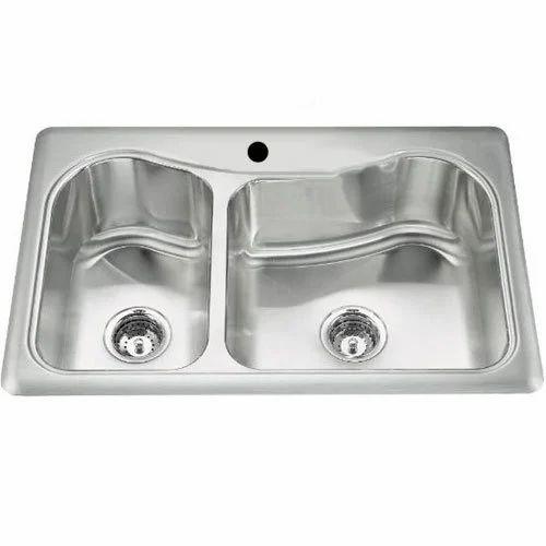 Double Kitchen Wash Basin