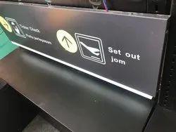 ACP Glow Sign Board