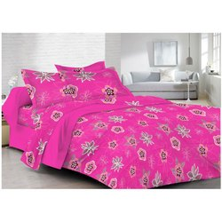 Cotton Printed Double Bed Sheets