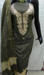 Ladies Gota Patti Suit Material