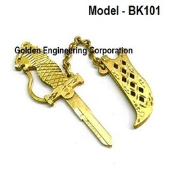 Brass Fancy Key Blank For Moter Bikes