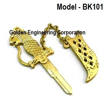 aab432b1ac01ed Brass Fancy Key Blank For Moter Bikes at Rs 1500 /piece | Two ...