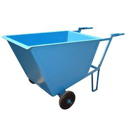 Double Wheel Barrow Hand Trolley